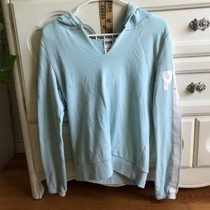 PINK Distressed Lounge Sweater
